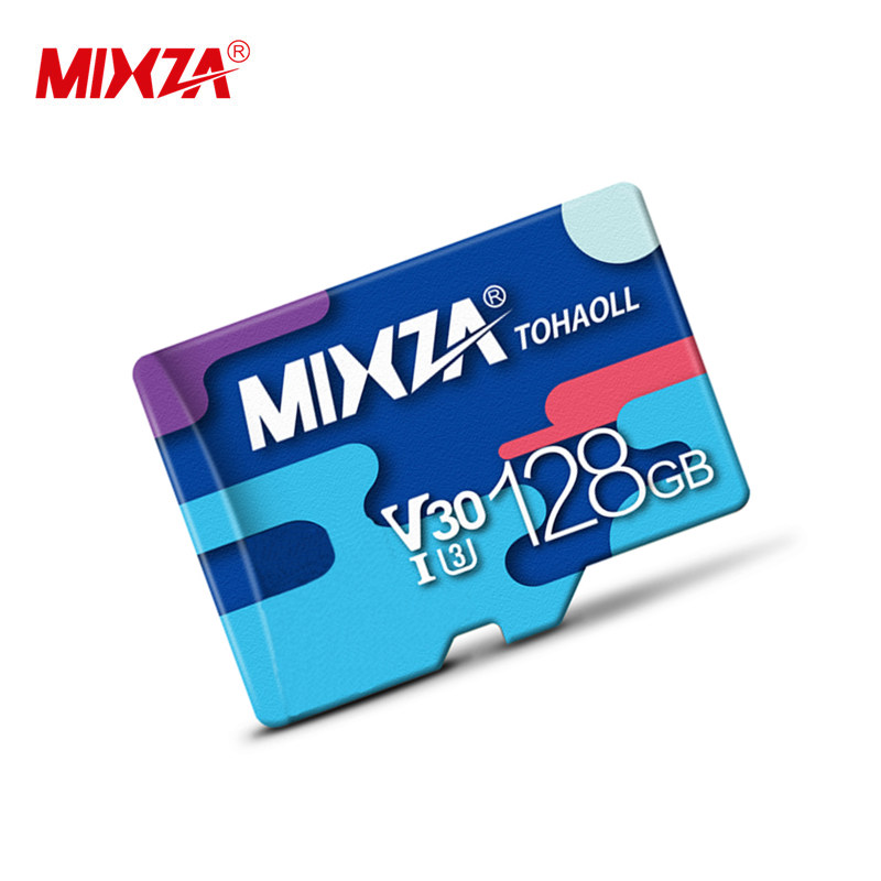 Wholesale MIXZA SD Card 128GB Micro Memory card Class10 U3 v30 High qualityTF card for IP Camera Monitor Mobile phone The tablet фото