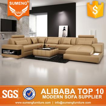Sumeng White Germany Sectional Corner Sofa Lazy Boy