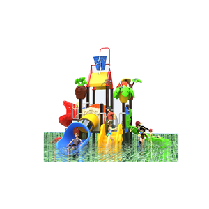 Newest plastic outdoor water kids playground,swimming pool slide