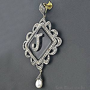 Cheap onyx pendant light find onyx pendant light deals on line at get quotations victorian estate pendant 750 cts black onyx with 152 cts of diamond as accent aloadofball Gallery