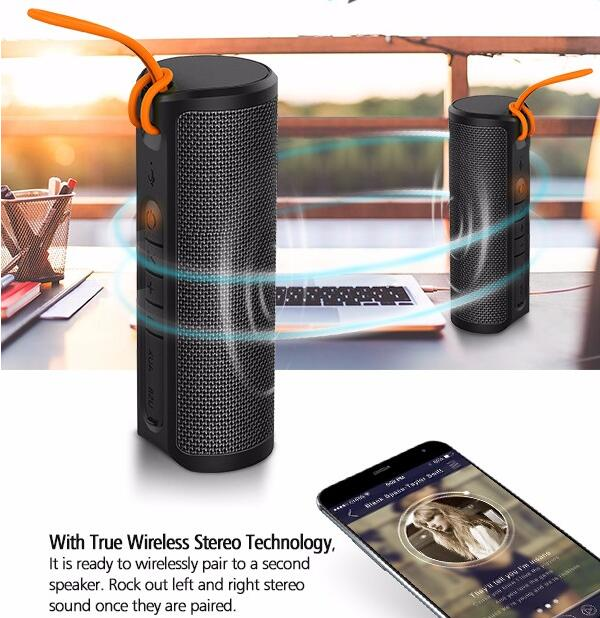 new look waterproof ,fashion, <strong>portable</strong>, outdoor use,wireless bluetooth speaker