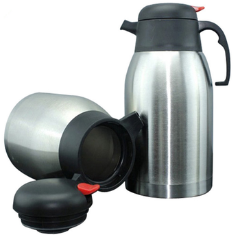 2000ML Large Capacity Water Bottles Pot Stainless Steel Coffee Tea Water Kettle For Home Office Drinking Water Bottle