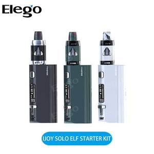 Newest eCig 2ml TPD Compliant 80W IJOY SOLO ELF Starter Kit Ready for Wholesale