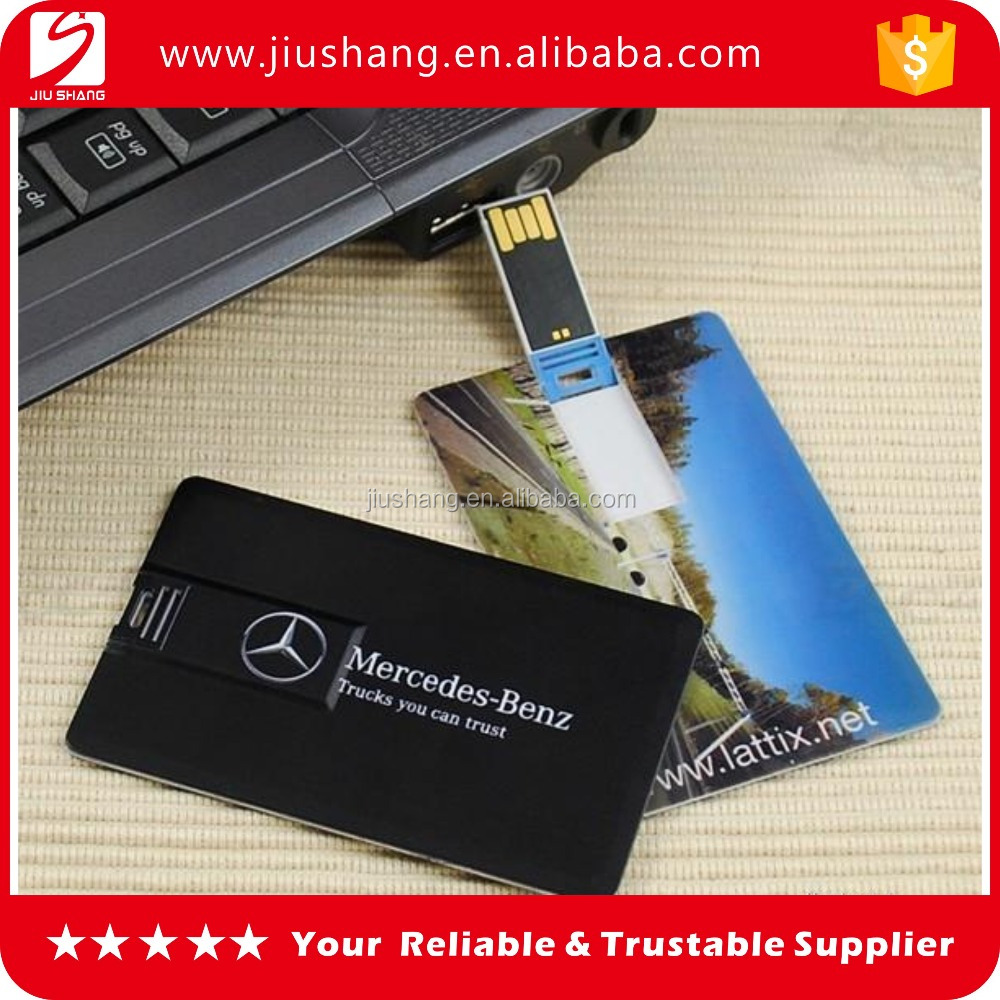 Cheaper plastic credit card usb flsh drive with custom logo