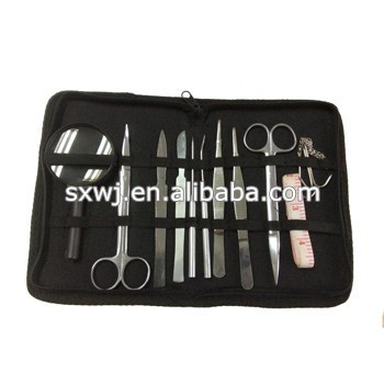 11pcs Surgical Instruments Veterinary Dissecting Kits