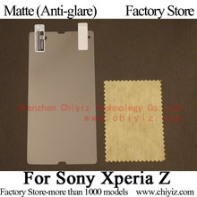 Matte Anti glare Frosted Screen Protector Guard Cover Protective Film For Sony Xperia Z L36h L36i L36a C6602 C6603 C6606 C6616