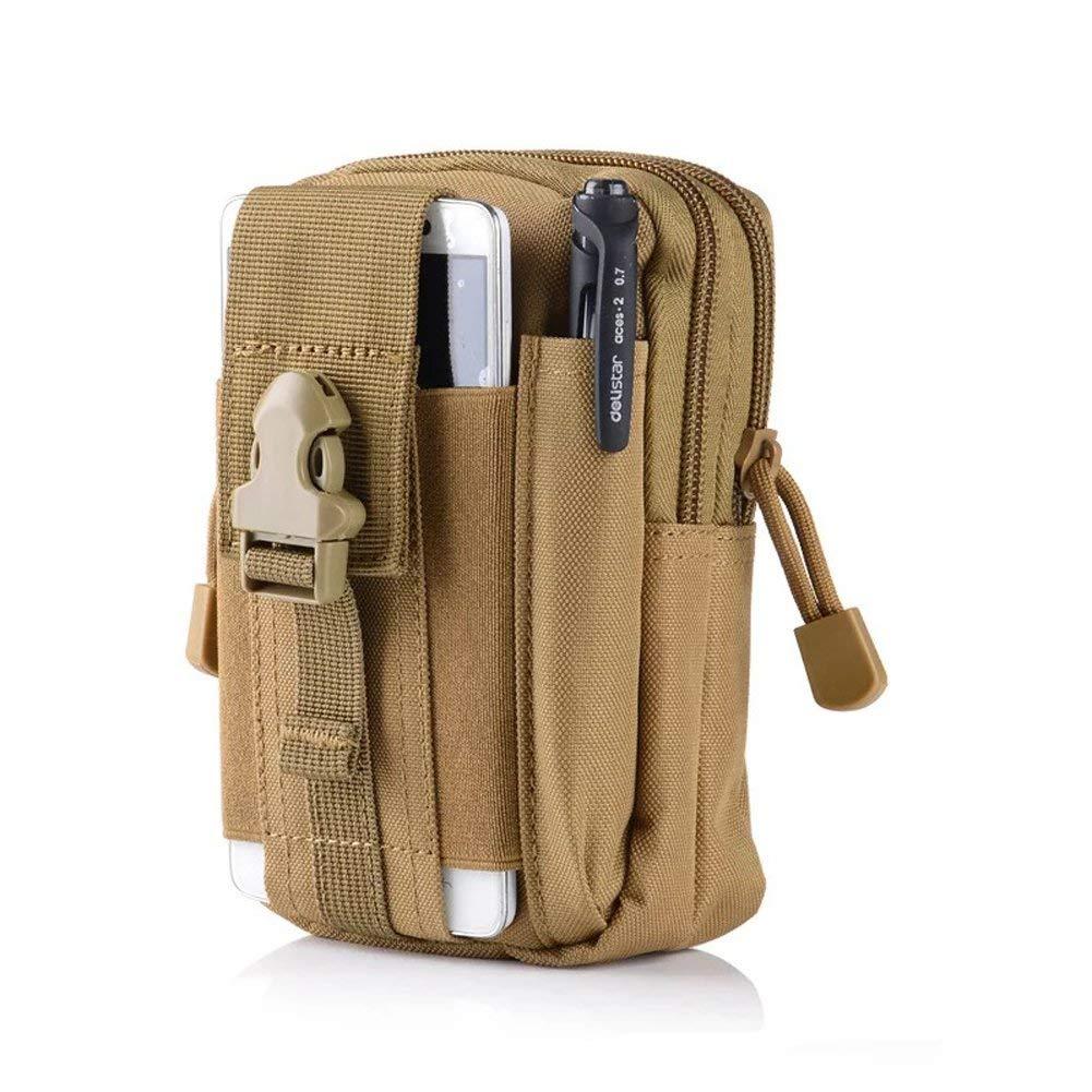 CHYIR Outdoor Sports Tactical Pockets Waterproof Mobile Phone Bag Running Bag