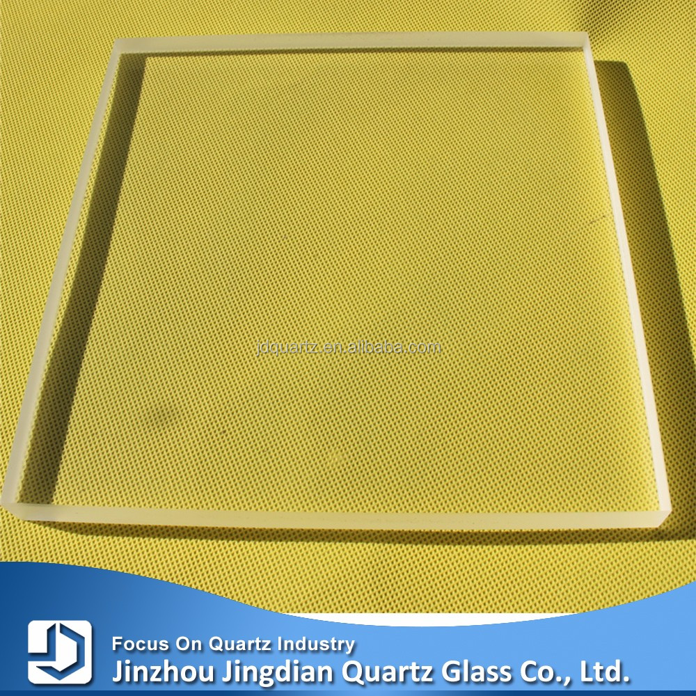 JD heat resistant borosilicate pyrex tempered glass sheet for oven door