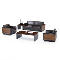 High quality factory sale best quality Leather office sofa for office