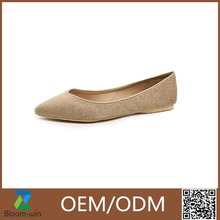 New arrival high quality flat women formal shoes GuangZhou made in China