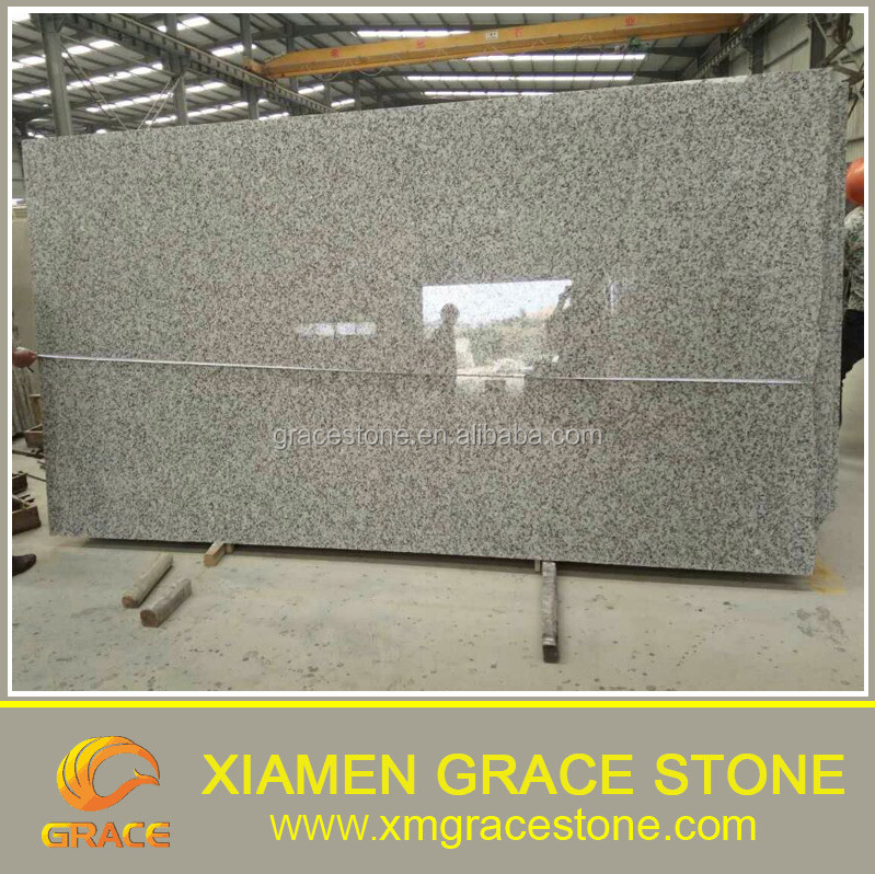 cheap chinese white G439 gangsaw polished big slab cheap for sale