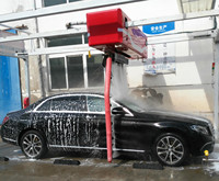 automatic car wash machine for auto cars