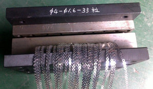 High Precision Schiffli Sequin Mould hammer cut sequin die mould