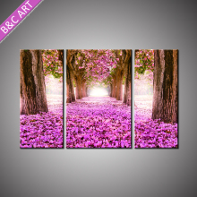 Newest Printed Natural Scenery Wall Picture Interior Wall Flower Painting