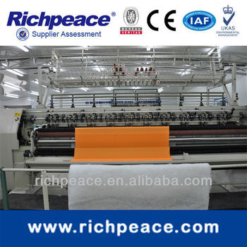 Richpeace Computerized Multi Needle Shuttle Quilting Machine RPQD-RL-943