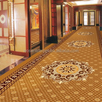 Cheap wall to wall carpet 5 star hotel corridor axminster for Cheap wall to wall carpet