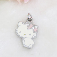 Hello Kitty Shaped Fashion Alloy Pendant for Necklace or Gift