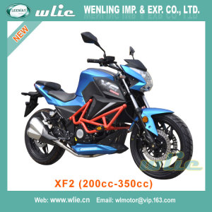 China Made cub bike cruiser touring racing motorcycle 300ccc 400cc motorbike CHEAP street XF2 (200cc, 250cc, 350cc)