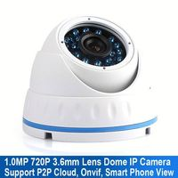 2.8Mm Lens Wide Angle 25Fps Real Time 2 Array IR LED Onvif Wireless Outdoor Surveillance Security Camera Store System