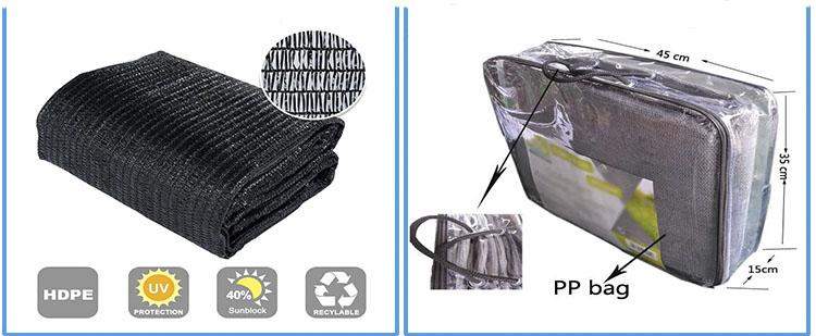Hdpe sonnensegel auto park sonnensegel sonnenschutz stoff segel