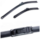 OEM quality all season motorcycle white windshield wiper