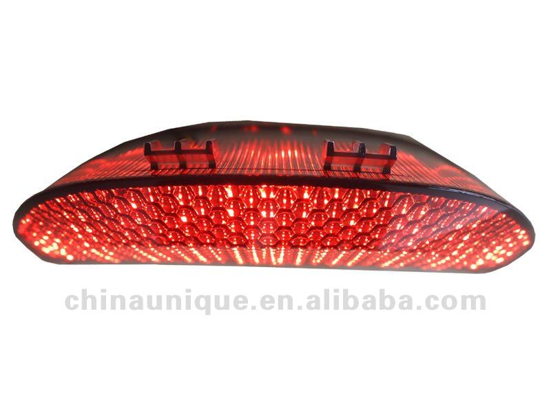 universal integrated motorcycle tail lights for cbr 600 f4i
