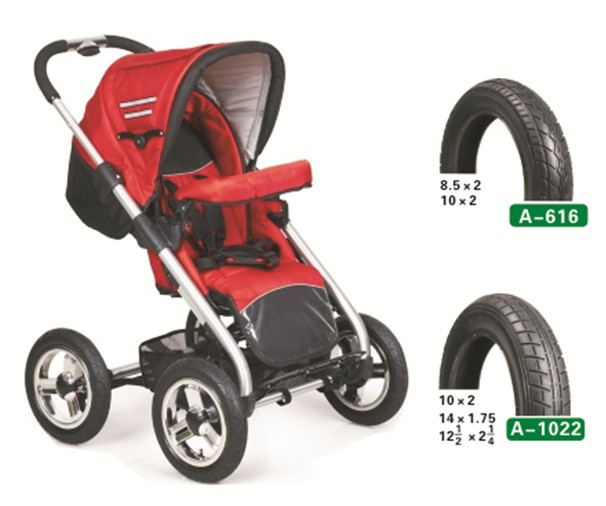 TOPOWER pram bicycle tires and tubes for kids