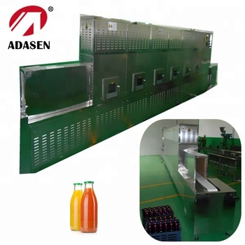 China supplier microwave sterilizing machine for bottle juice