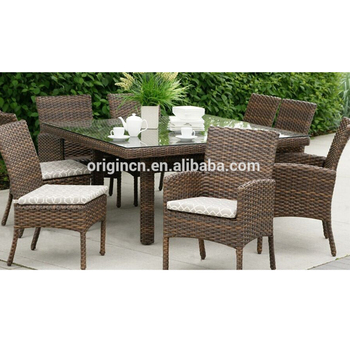 Patio Banquet Wicker Furniture Outdoor