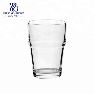 380ml Good quality cheap price stackable horeca glass tumbler