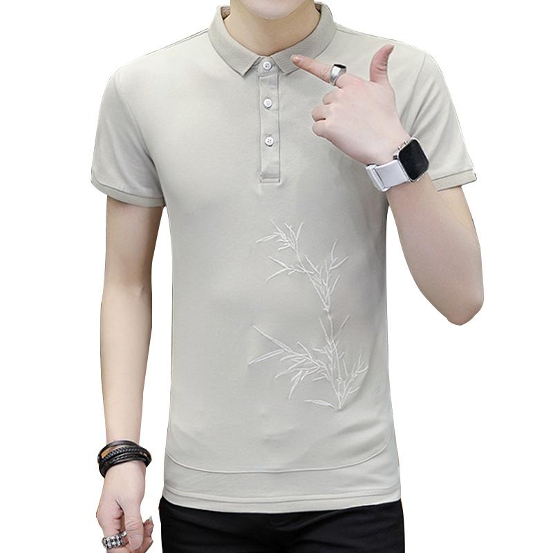 9a15e61bfe Plus Size Homens de Camisa Pólo Para Homens Polo Camisa de Algodão Dos  Homens de Manga