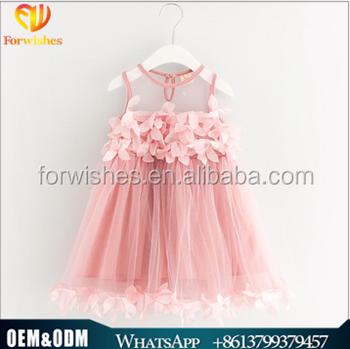 ec7444ecb780 2017 Infant Baby Clothes Sweet Kids Frocks Design Girl Sleeveless ...