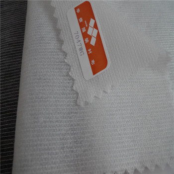 Polyester nylon PA Double Dot Stitch Bonded Nonwoven Clothing Interlining Fabric