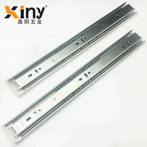Stainless Steel ball bearing telescopic drawer channel