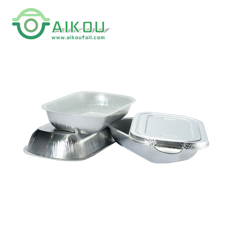 China Suppliers Disposable Food Package Aluminum Foil Airline Food  Container - Buy Airline Food Container,Airline Food Container,Airline Food