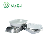 China suppliers Disposable Food Package aluminum foil airline food container