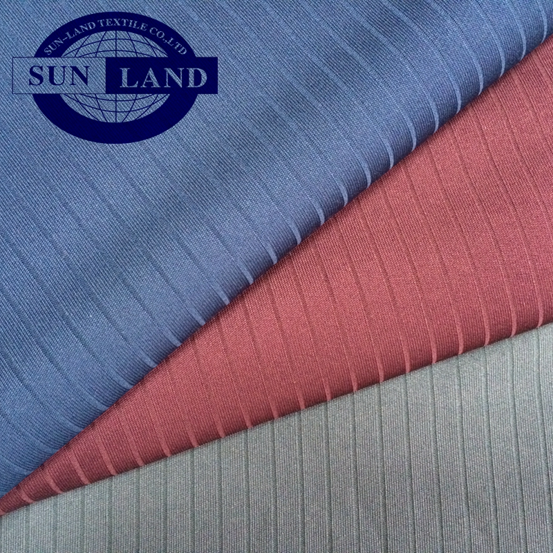 100% Polyester Moisture Wicking Polyester Drop Needle Interlock Fabric
