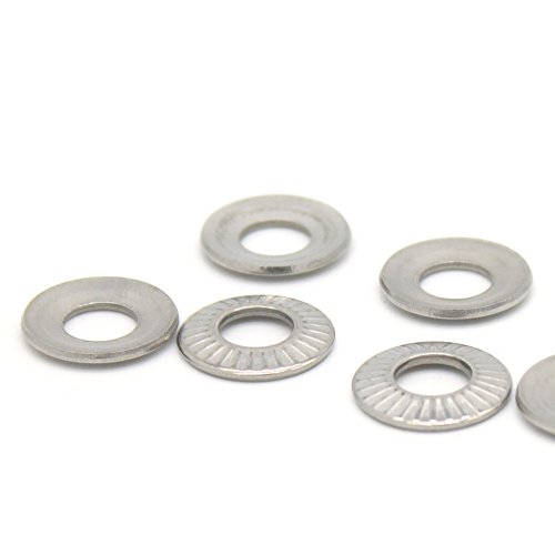Aexit 12.5mm Outer Washers Dia 6.2mm Inner Diameter 0.7mm Thickness Belleville Spring Belleville Washers Washer 25pcs