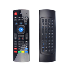 2.4G wireless mini keyboard T3 air remote mouse mx3 fly mouse