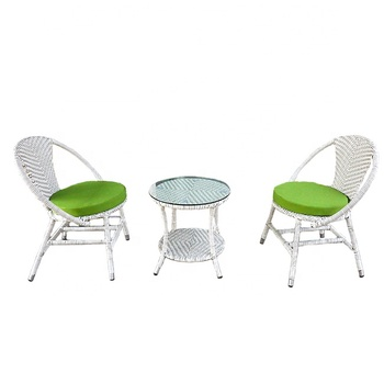French Style Elegant Design Beautiful Outdoor Modern Garden White Wicker  Round Cafe Chairs And Tables - Buy Cafe Chairs And Tables,Indoor Cafe  Tables ...