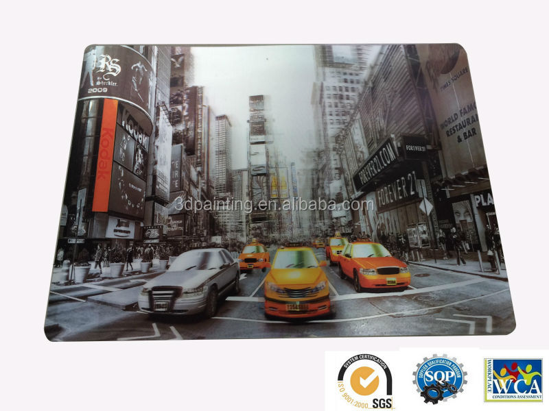 Environmental camping 3D PP placemat table mat
