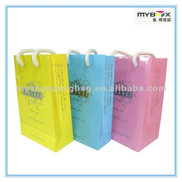 2012 High Quality Cheap Personalized Gift Bags