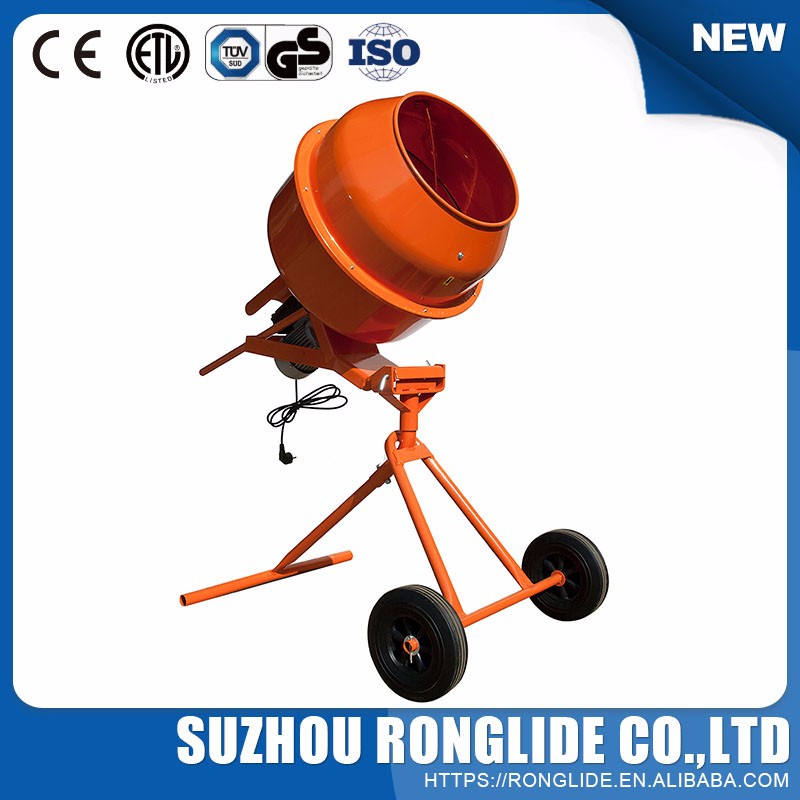 2017 Latest Design Stainless Steel Concrete Mixer