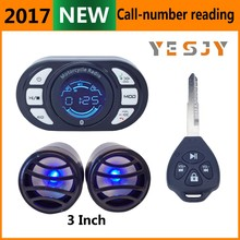 china suppliers two rfid 2 way motorcycle alarm system
