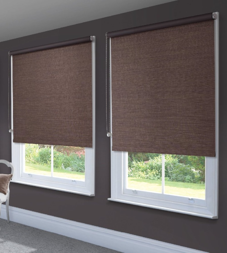 New Jacquard Patterned Dual Combi roller shades /roller blinds for
