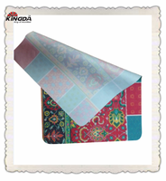 Sublimation 20x30cm Microfiber Glass Cleaning Cloth