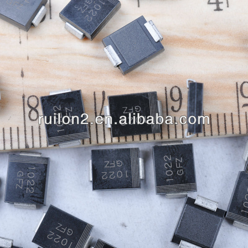 50 pieces Transient Voltage Suppressors TVS SURF MT DO214AA TVS Diodes