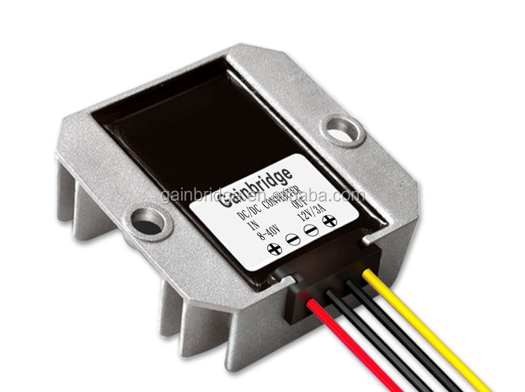 12V/24V/36V DC (8-40V) to 12V DC converter Stabilizer, 2A/3A/4A/6A, Manufacturer, Customization available