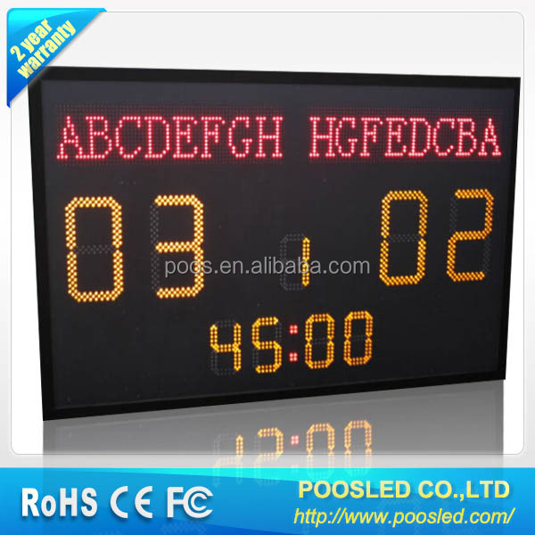digital football scoreboard digital score board \ electronic \ digital score led display board