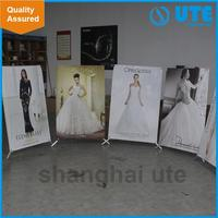 custom exhibition X stand outdoor banner